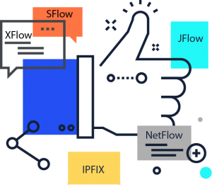 All Netflow versions supported